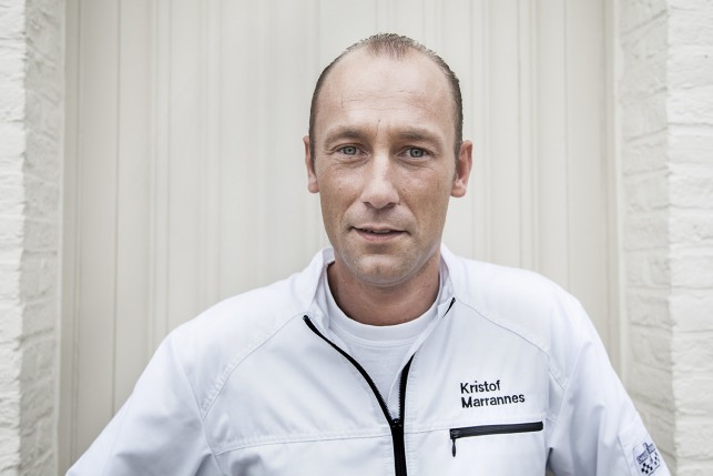 Chef and owner Kristof Marrannes