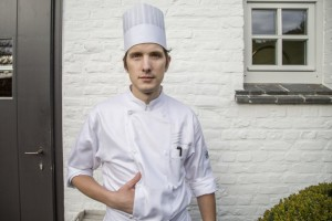 Day to day chef Maarten Bouckaert