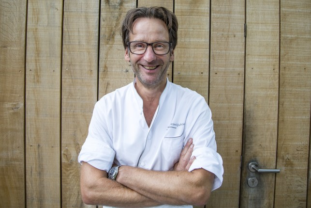 Head Chef Dick Middelweerd