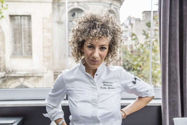 Head Chef and owner Georgianna Hiliadaki
