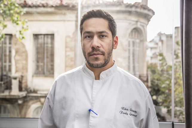 Head Chef and owner Nick Roussos