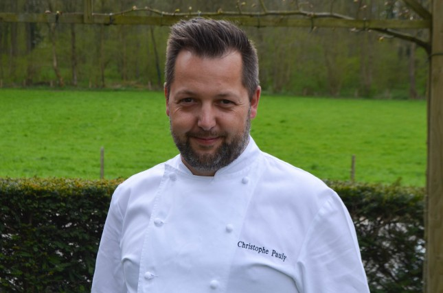 Chef Patron Christophe Pauly